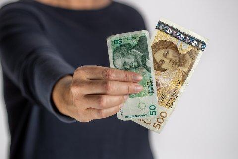 GÅR UT: Desse setlane vert no tekne ut av sirkulasjon. (Foto: Norges Bank)