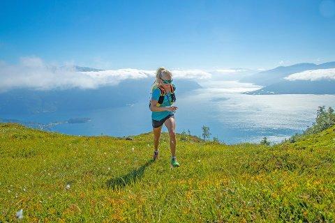 HEFTIG LØP: Malene Blikken Haukøy sprang 110 kilometer på 18 timar og 19 minutt i Austerrike i helga. Det gav ein solid 2. plass i årets utgåve av Grossglockner Ultra-Trail. (Foto: Arkiv / Håvard Nesbø)