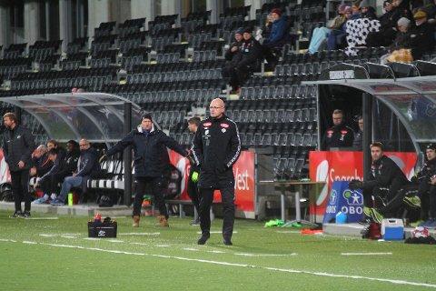 UTE AV CUPEN: Sogndal-juniorane er ute av NM-cupen, men trenar Nils Tore Krosshaug er stolt over innsatsen til spelarane.