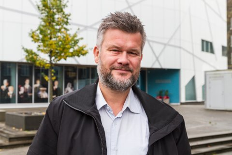 SEIER OPP: Kjartan Aa Berge, administrerande direktør for Stiftinga Musea i Sogn og Fjordane, har sagt opp stillinga si.