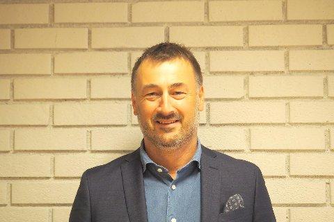 NY STYRELEIAR: Geir Arve Sandvik tek over som styreleiar i Sognekraft. Nestleiar er Laura Kvamme.