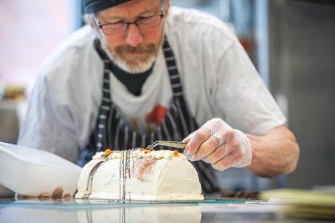 TIL BERGEN: Alm Gard, som produserer is, deltek på Bergen Matfestival.
