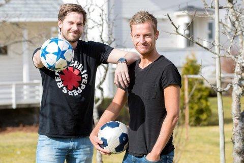 NY SESONG: Endre Romøren og Morten Sortland er klare med ein ny episode av podkasten Radl om badl tek til i ettermiddag. Den blir sendt direkte på Facebook.