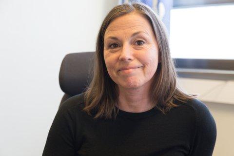 RUTINESVIKT: Laila Haugland, avdelingssjef på medisinsk avdeling, har funnet ut kvifor ein overlege var på jobb med MRSA-bakterien.