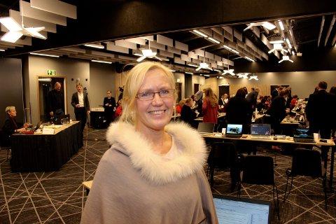 HEILE VESTLAND:  - Me vil utvikla heile Vestland, seier Sigrid Brattabø Handegard.