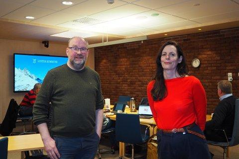 NYTT STEG: Morten Johan Vigdal (Ap) fekk støtte av Marit Aakre Tennø (Sp) i forslaget om å forhandla med Sogndal om vertskapsrolla for Sogn kulturskule.