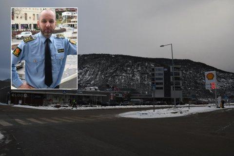 VIL HA DIALOG: Magne Stramstein, lensmann i Sogn, seier at dei vil ha dialog med rånarane om kva som er akseptabel åtferd.