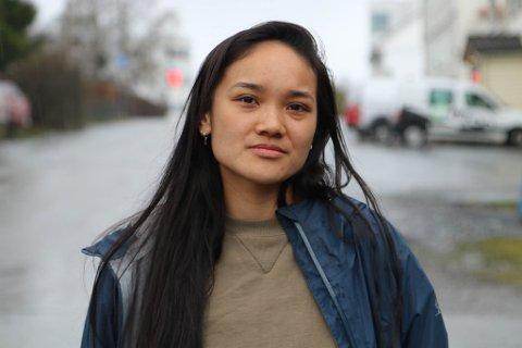 ADOPTERT: Innlegget til Jenny Guo Strømsnes frå Florø, fekk stor merksemd. Innlegget handla om det å vekse opp som adoptert asiat i Norge.