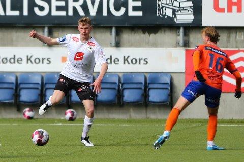 LANDSLAGET: Iver Skorve (17) er teken ut på det norske G18-landslaget til samling og kampar i Portugal i juni.