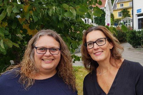 KLARE: Litteraturdagar-sjef Gro Nesse-Bremer og kultursjef Monica Hille  er klare, og gler seg til jubileumsutgåva av Nynorske Litteraturdagar fjerde helga i oktober.