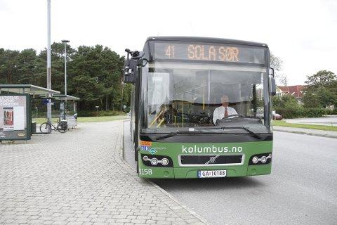 Kolumbus-passasjerer ønsker seg buss til Hålandsmarka i helgene. I dag har beboere i sørabygda ikke et busstilbud i helgene.
