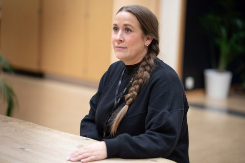 Sara Sanne Opdahl, leder for Utdanningsforbundet i Sola