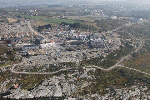 Kommunen bygger 16 boliger på Myklebust. Disse skal nå tildeles. (Arkivfoto)