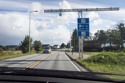 Det har vært en markant nedgang i trafikken på Nesbuvegen etter at Solasplitten åpnet i desember.