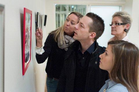 Årets UKM-jury bestod av f.v: Ingeborg Skrudland, Mikaell Olsson, Elisa Esmeralda Sørensen og Hanne Meland (bakerst).