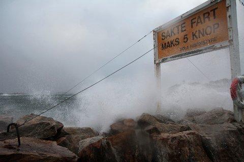 Det kan bli en vindfull inngang på helgen i Rogaland.