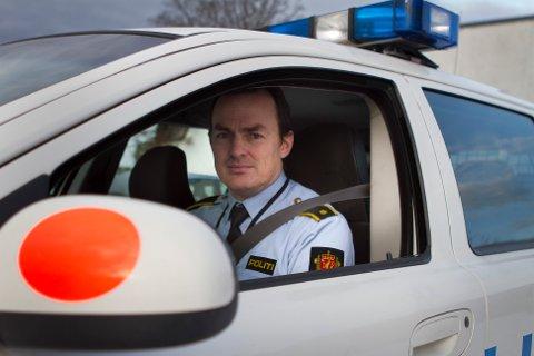 Kjell Klepp, politiførstebetjent ved Sola lensmannskontor.