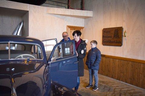 Janne Stangeland Rege eier TS-museet, mens faren Olav Stangeland driver det. Nå er museet utvidet. Bildet er fra 2014.