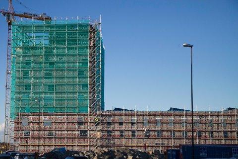 Clarion Hotel Air er godt i gang med byggingen og skal stå klar 23. november 2015. Her skal det komme 290 rom og 1.500 kvadratmeter konferanselokaler.