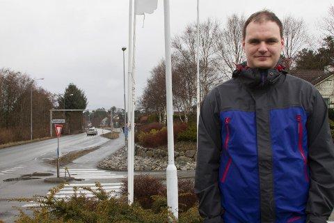 David Moen mener Transportkorridor Vest burde hatt sykkeltunnel over bakken og kulvert forbi Snøde.