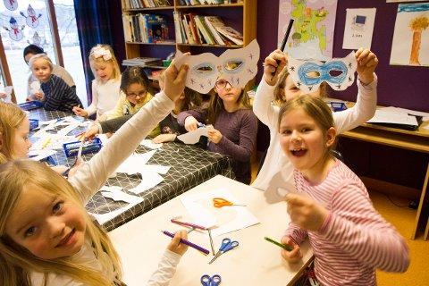 Politikerne innfører søskenmoderasjon fra barn nummer to i SFO, og for dem med barn i barnehage og SFO. Bildet er tatt i Røyneberg SFO i en helt annen anledning.