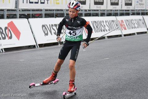 Brage Szalay Pettersen fra Skadberg går for Figgjo Ski og Skiskyting. I helgen gjorde han det sterkt under Blinkfestivalen.