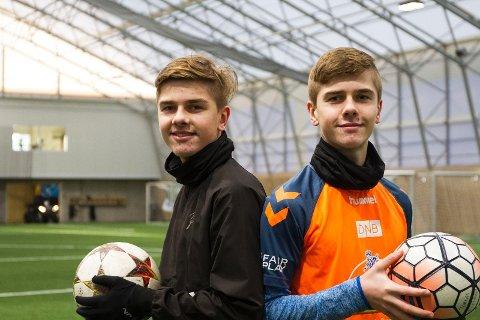 Jonatan og Tobias Kleming vil bli fotballproffer og gjør mer enn de fleste for å gjøre drømmen til virkelighet.