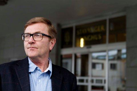 Bostyrer Fredrik Bie er fornøyd med at såpass mange arbeidsplasser ble berget etter at de ansatte kjøpte konkursboet etter Simex AS.