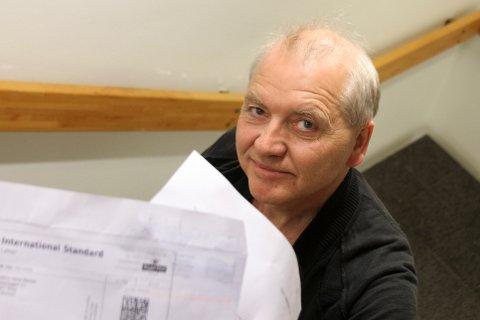 Tor Inge Halvorsen lot seg ikke lure av brevet som kom i posten. Det håper han ikke andre heller gjør.