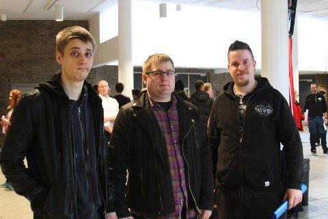 Thorbjørn Løland, Thomas Rott og Kristian Sunde Tollaksen har alle mistet jobben, men har et stort håp om å snart finne ny.