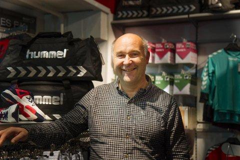 Cato Kroken er ny daglig leder i Sport og Fritid. Han har jobbet i sportsbutikk helt siden han var 14 år.