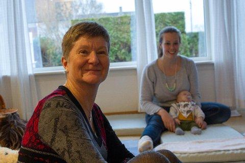 STØTTE: Kirsty Williamson fra Aberdeen synes det har vært en trygghet å gå på kurs hos Pagler både før og etter fødsel.