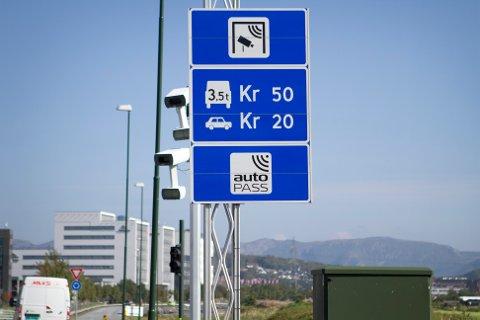 Sola kommune er først ut når vegvesenet startet opp arbeidet med de nye bomstasjonene.