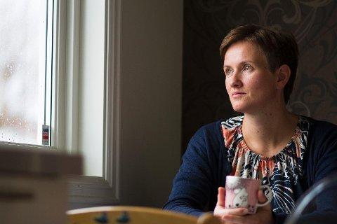 Langtidsledig: Arbeidsledigheten synker, men stadig flere solabuer blir langtidsledige, slik som Marian Oline Evensen (41) fra Tananger.
