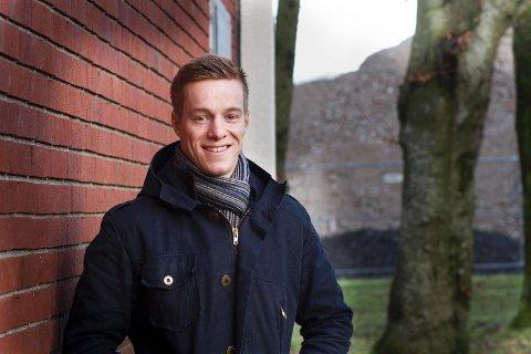 Juleferie: Stian Skjerahaug har vært hjemme på Sola i julen, men er nå i gang igjen med treningen mot sitt store mål, som er OL i 2020.