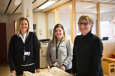[b]Utvider tilbudet:[/b] Virksomhetsleder Bjørghild Underhaug, teamleder Veslemøy Gjørøy og helsesøster Synnøve Hopen tror endringene på helsestasjonen vil føre mye bra med seg.