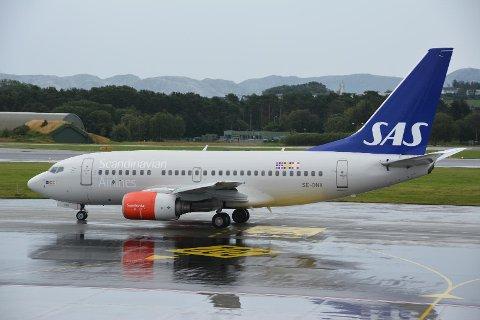 Illustrasjonsfoto. Flyet på bildet har Solabladet bekjent ingen direkte tilknytning til den aktuelle saken.