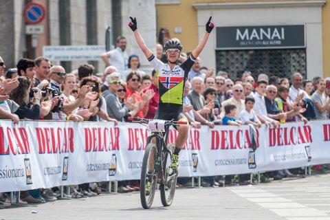 Gunn-Rita Dahle Flesjå fikk i helgen regionens høyeste utmerkelse for sine enestående resultater som elitesyklist.