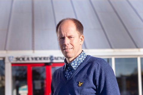 Rektor ved Sola videregående skole, Sigurd Svela.