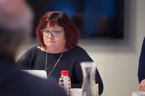 Fungerende ordfører Siv-Len Strandskog ser en nedadgående trend, men lar fagfolk uttale seg først.