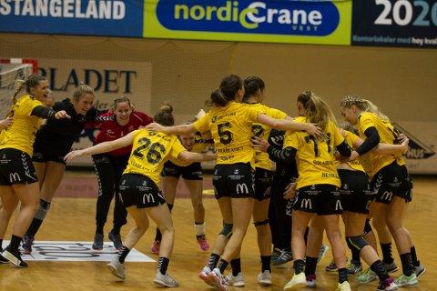 Det var mange jubelscener i Åsenhallen forrige sesong i 1. divisjon. Tirsdag ble terminlisten for kommende sesong i Eliteserien sluppet.