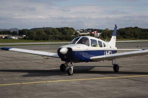 Det er dette flyet, LN-MTJ, som gikk ned i sjøen i Skagerak i fjor. Bildet er tatt ved en tidligere anledning i forbindelse med en reportasje om flyklubben.