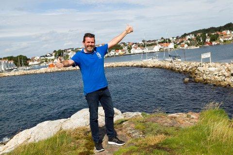 Morten Danielsen skal arrangere dans på Melingsholmen, og håper det blir en årlig tradisjon.