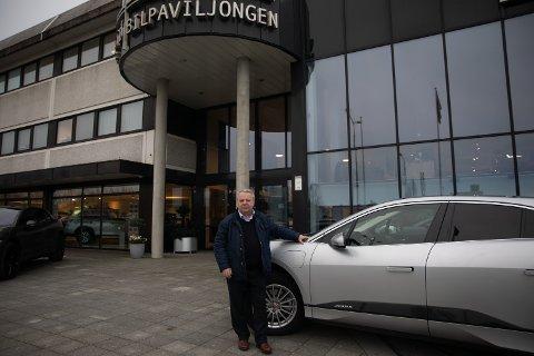 (Arkivbilde) Arne Hellestø vil utvide lokalene til Bilpaviljongen med 2700 kvadratmeter.