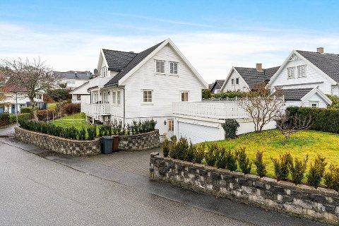 Denne boligen i Tananger leies ut for 30.000 kroner i måneden.