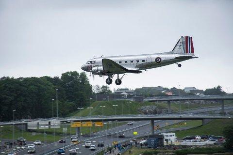 Dakota Norway sin maskin besøkte Sola Airshow i 2017.
