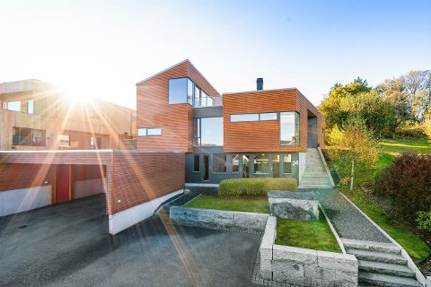 Dette huset på Sørnes har gått for mest så langt i år.