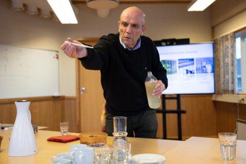 Gründer Svein Dahle i Micro A er glad for at bedriften nå mottar støtte og kan jobbe videre med prosjektet.