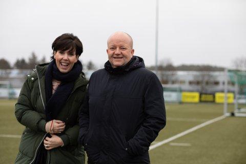 Høyre-politikerne Janne Stangeland Rege og Robert Sæbø mener det er Tananger sin tur nå å få et idrettsløft.