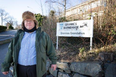 Sigve Bø mener det hadde vært best om de som bor på Grannes hadde fått postnummeret 4060 Grannes i stedt for 4044 Hafrsfjord, som de deler med Stavanger kommune.